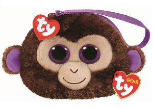 Meteor TY - plyšová kabelka do ruky   - opička  Coconut  95204