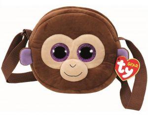 Meteor TY - plyšová kabelka na rameno  - opička Coconut   95102