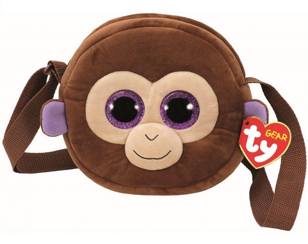 Meteor TY - plyšová kabelka na rameno - opička Coconut 95102 TY Inc. ( Meteor )