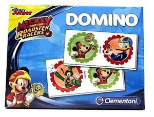 Obrázkové domino Clementoni   - Mickey Mouse - závodníci