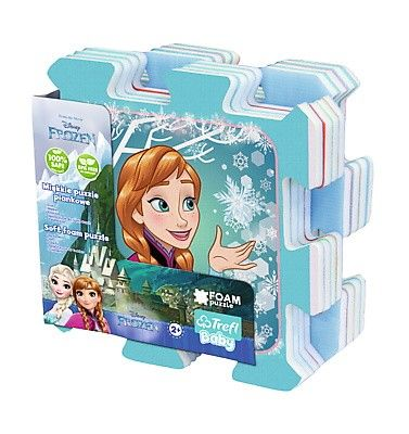 Pěnové puzzle - koberec - Frozen NEW 60916 Trefl