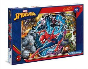 Podlahové puzzle Clementoni 30  dílků MAXI  -  Spiderman  07441