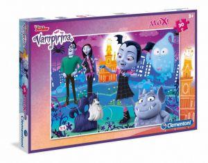 Podlahové puzzle Clementoni 30  dílků MAXI  - Vampirina   07439