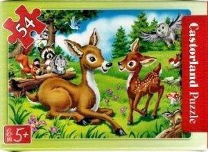 puzzle Castorland 54 dílků mini - pohádky 2  - Bambi  b