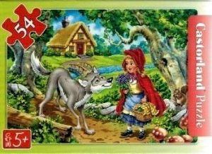 puzzle Castorland 54 dílků mini - pohádky 2  - Červená Karkulka c