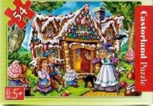 puzzle Castorland 54 dílků mini - pohádky 2  - Jeníček a Mařenka b