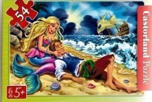 puzzle Castorland 54 dílků mini - pohádky 2  - Malá mořská víla b