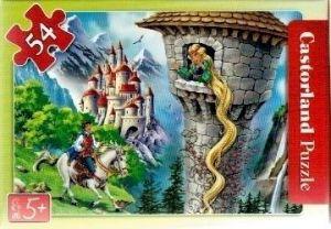puzzle Castorland 54 dílků mini - pohádky 2  - Na vlásku