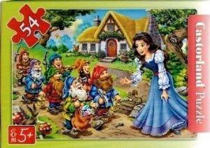 puzzle Castorland 54 dílků mini - pohádky 2  - Sněhurka c