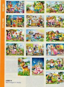 puzzle Castorland 54 dílků mini - pohádky  assort 16 druhů