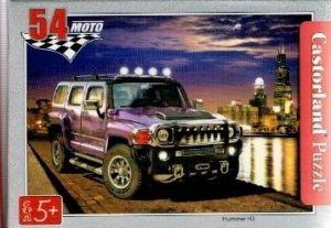 puzzle Castorland 54 dílků mini - terénní auta - Hummer H3