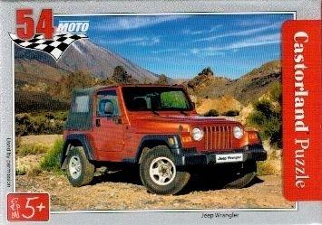 puzzle Castorland 54 dílků mini - terénní auta - Jeep Wrangler