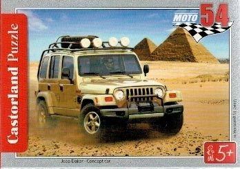 puzzle Castorland 54 dílků mini - terénní auta - Jeep Dakar