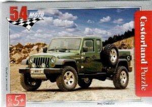 puzzle Castorland 54 dílků mini - terénní auta - Jeep Gladiator
