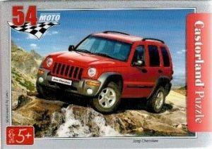 puzzle Castorland 54 dílků mini - terénní auta - Jeep Cherokee