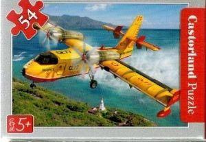 puzzle Castorland 54 dílků mini - záchranářská letadla - požární letadlo