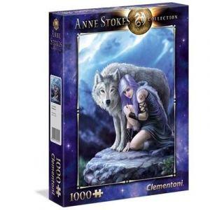 puzzle Clementoni 1000 dílků - Anne Stokes - Ochránce - Protector 39465