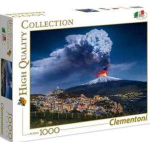 Puzzle Clementoni 1000 dílků - Etna - Itálie   39453
