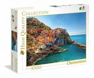 Puzzle Clementoni 1000 dílků - Manarola    39452