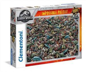 Puzzle Clementoni 1000 dílků - Nekoneční dinosauři  39470
