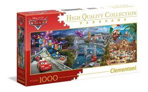Puzzle Clementoni 1000 dílků  panorama - CARS - Auta    39446
