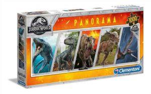 Puzzle Clementoni 1000 dílků  panorama - Dinosauři - Jurassic World   39471