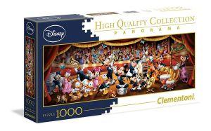 Puzzle Clementoni 1000 dílků  panorama - Disney orchestr    39445