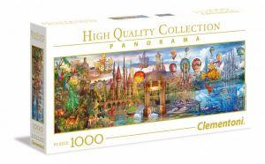 Puzzle Clementoni 1000 dílků  panorama - Fantastic   39424