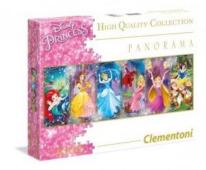 Puzzle Clementoni 1000 dílků  panorama - Princezny    39444