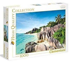 Puzzle Clementoni 1000 dílků - Paradise Beach    39413