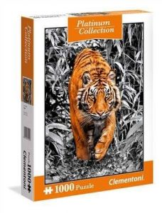 Puzzle Clementoni 1000 dílků - Platinum Coll  - Tygr   39429