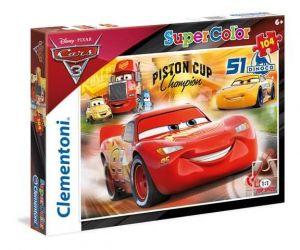 Puzzle Clementoni 104 dílků  - CARS  Auta 3    27075