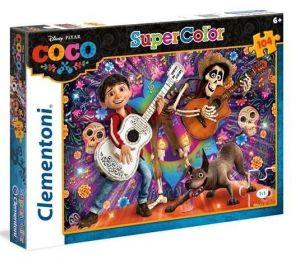 Puzzle Clementoni 104 dílků  - Coco  27095
