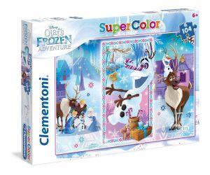 Puzzle Clementoni 104 dílků  -  Frozen - Ledové království    27093