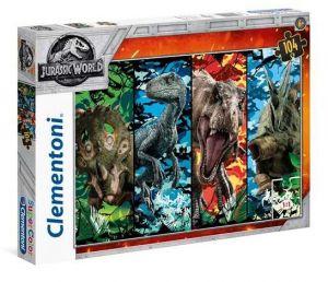 Puzzle Clementoni 104 dílků  - Jurassic World   27099