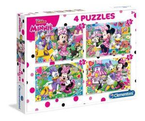 Puzzle Clementoni 2 x 20  a  2 x 60 dílků   Minnie  Mouse   07615