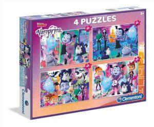 Puzzle Clementoni 2 x 20  a  2 x 60 dílků   Vampirina    07617