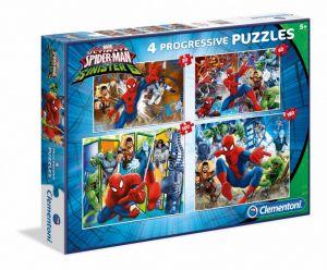 Puzzle Clementoni  - 20, 60, 100 a 180 dílků  - Spiderman  96011