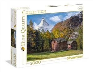 Puzzle Clementoni 2000 dílků - Matterhorn   32561