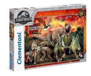 Puzzle Clementoni 250 dílků  - Dinosauři - Jurassic World  29752