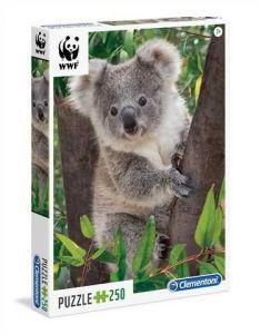 Puzzle Clementoni 250 dílků  - WWF - Koala  29054