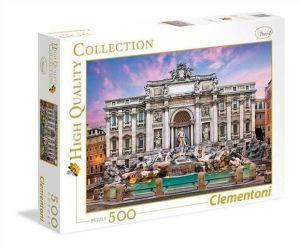 Puzzle Clementoni 500 dílků  - Fontána di Trevi    35047