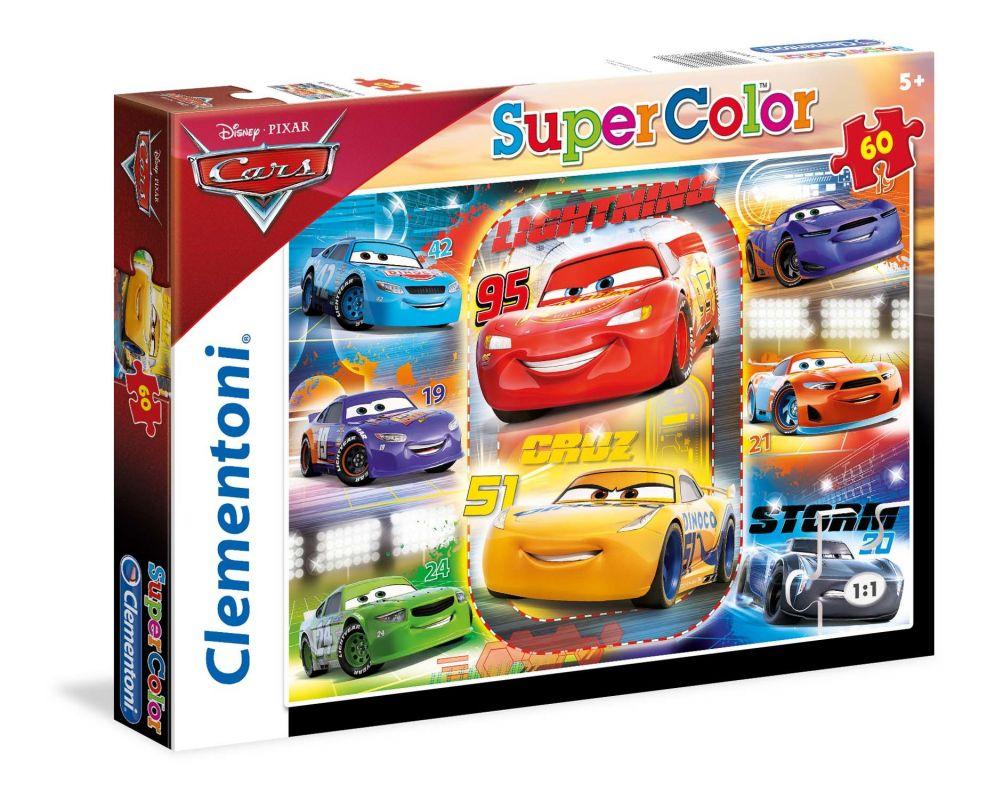 Puzzle Clementoni - 60 dílků - CARS - Auta 26983
