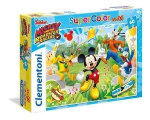Puzzle Clementoni 60 dílků MAXI   -  Mickey Mouse   26433