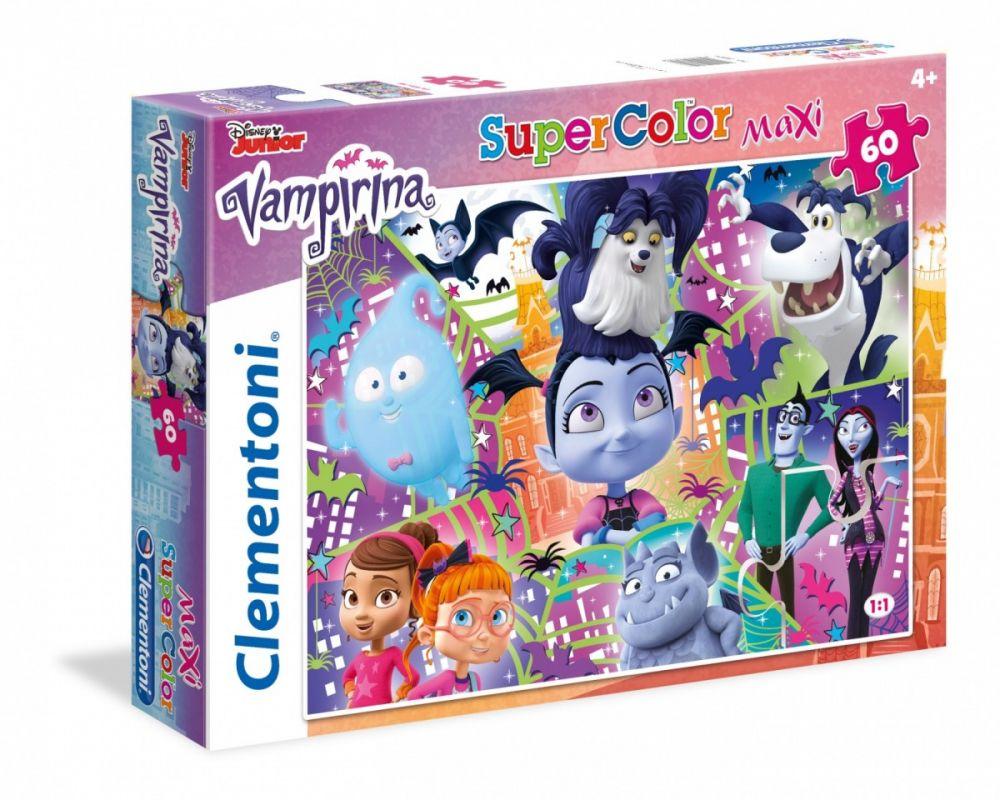 Puzzle Clementoni 60 dílků MAXI - Vampirina 26434