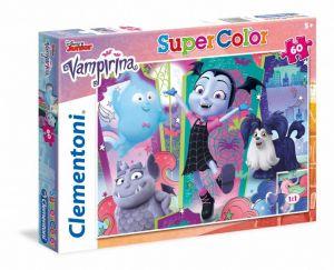 Puzzle Clementoni 60 dílků  -  Vampirina    26988