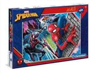 Puzzle Clementoni  MAXI  - 100 dílků  -  Spiderman  07533