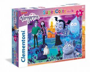 Puzzle Clementoni  MAXI  - 24 dílků  - Vampirina  24499
