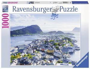 puzzle Ravensburger 1000 dílků - Alesund -  198443
