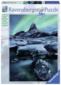 puzzle Ravensburger 1000 dílků - Norský ledovec  -  198306